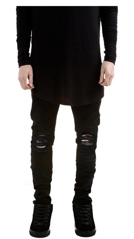 Designer Black Jeans For Men - Xtellar Jeans