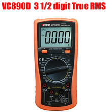Cheaper VC890D Digital Multimeter True RMS multimeter capacitor Operation mode: manual range