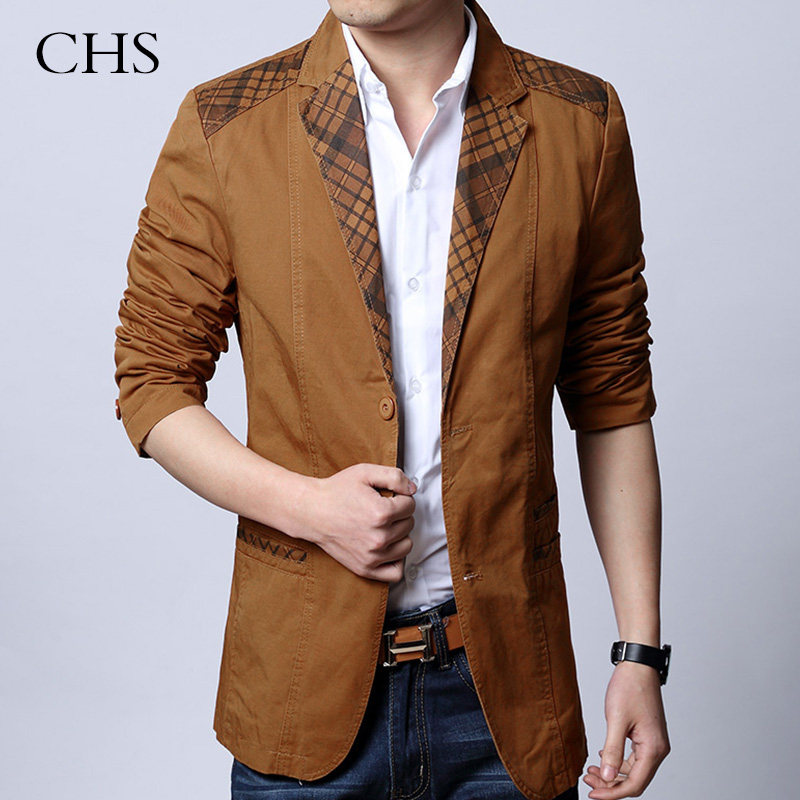Popular Mens Plaid Brown Blazer-Buy Cheap Mens Plaid Brown Blazer ...