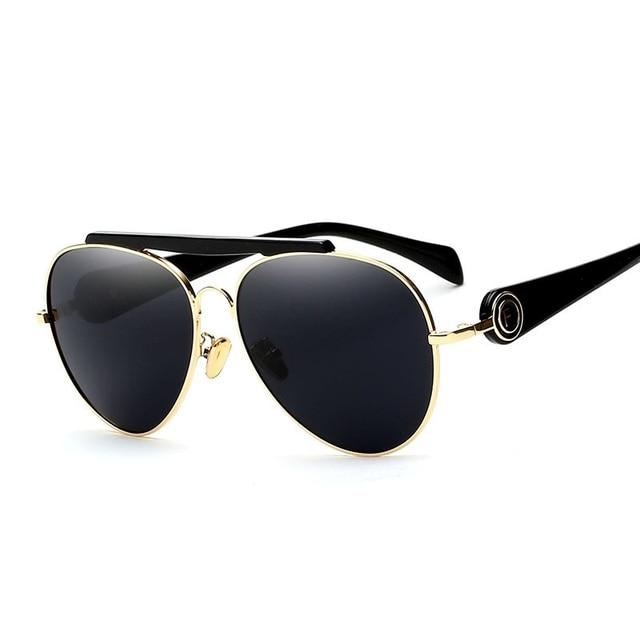 Mimiyou retro 2 vigas de aleación marco oval de la vendimia gafas de ...
