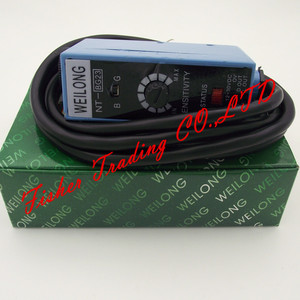 Image 5 - color code weilong sensor NT BG22 NT BG23 for packing machines,metal photoelectric switch light source adjusted/blue and green