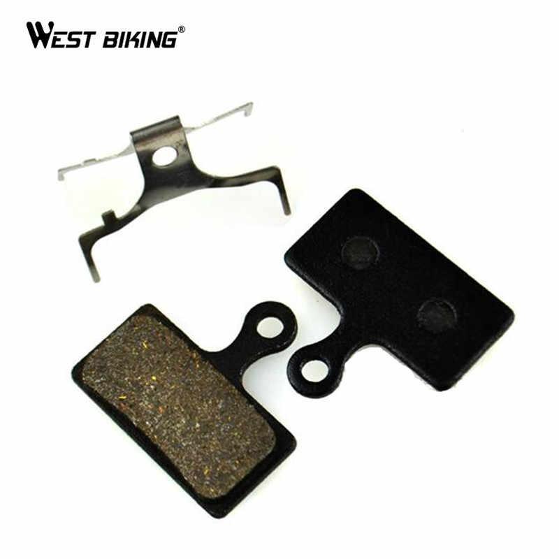 5 Pairs Bicycle Resin Disc Brake Pads for Shimano M375 M395 M416 M445 M446 M485