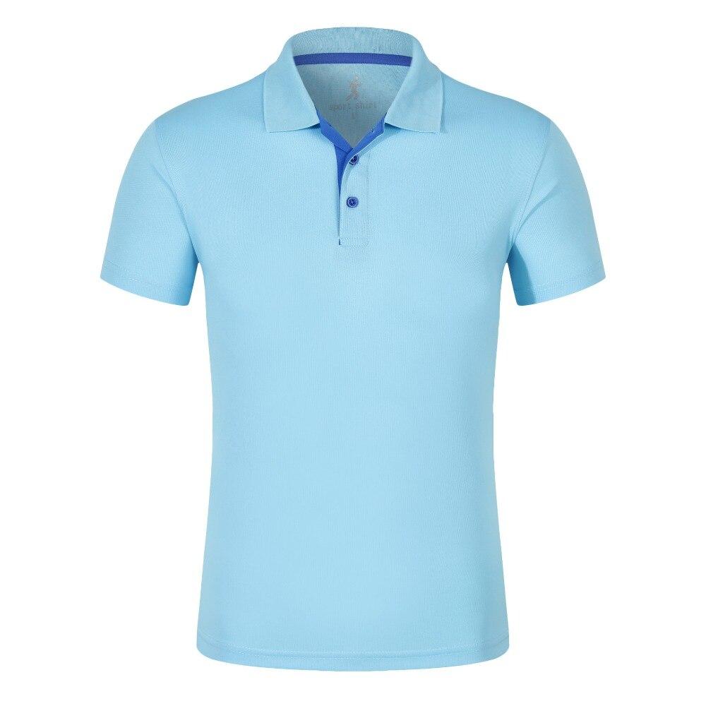 2019 camisa de polo de los hombres de alta calidad de algodón de manga corta Camiseta de verano respirable sólido hombre polo camisa Casual de negocios de ropa
