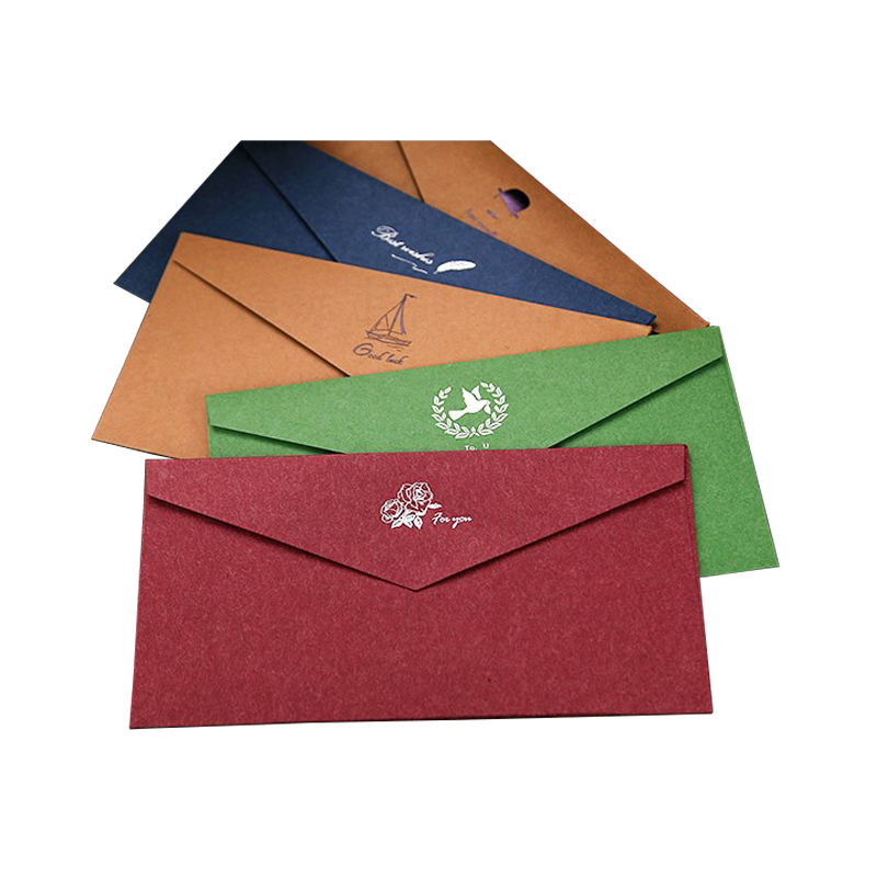 Zuoluo Factory Supplier Recycled Office Paper Envelopes With Simple Design