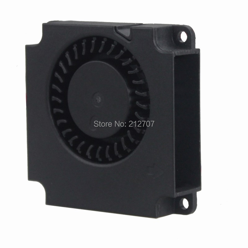 Купить с кэшбэком 1PCS Gdstime 3D Printer Parts 4010 Brushless DC Cooling Turbo Blower Fan 12V 40mm 40x40x10mm 2Pin