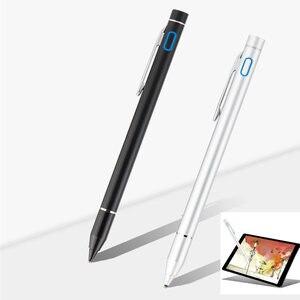 Модная активная ручка, емкостная ручка для сенсорного экрана для iPad Pro 11 2018 Pro 12,9 2018 10,5 9,7 дюймов, стилус для планшета 1,35 мм