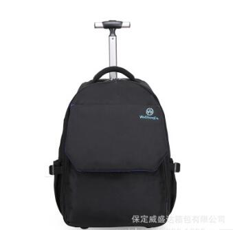 nylonTravel Luggage wheeled Rolling Backpacks Trolley bags Women Men Business bag luggage suitcase Travel backpack on wheels universal uheels trolley travel suitcase double shoulder backpack bag with rolling multilayer school bag commercial luggage