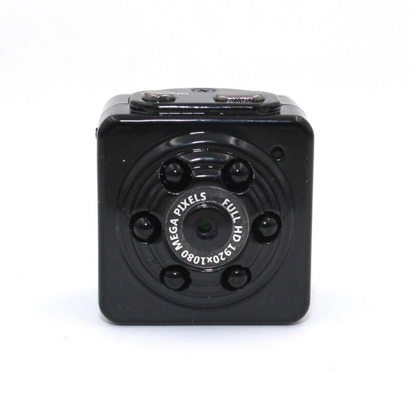 Mini cámara de seguridad portátil 1080P HD movimiento Video vigilancia videocámara de visión nocturna Grabación en bucle para el hogar del coche