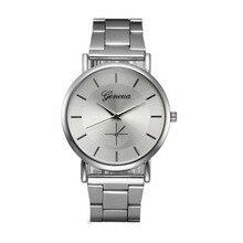 2017 New Arrival Women Crystal Stainless Steel Big Dial Watch Watches Analog Quartz Wrist Watch Bracelet Watch Relogio Masculine