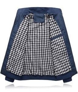 Image 3 - Sonbahar kış erkek ceket rüzgarlık erkek palto rahat düz renk ceket Slim Fit uzun kollu erkek gömlek rüzgar geçirmez ceket ceket boyutu 6XL 7XL 8XL