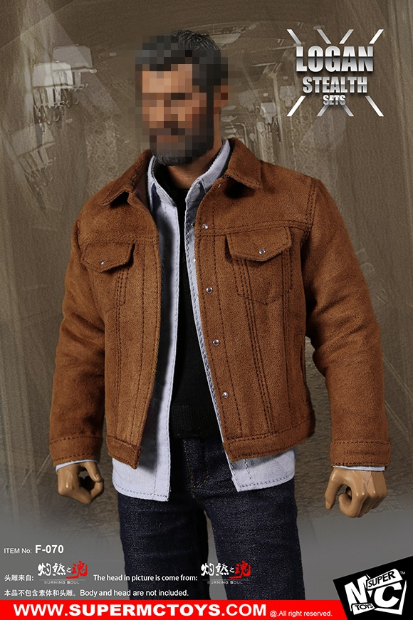 1/6 scale figure accessories male Wolverine Logan Clothing for 12 Action figure doll,Not included body,head and other 17C3173 1 6 scale nude male body figure muscle man soldier model toys for 12 action figure doll accessories
