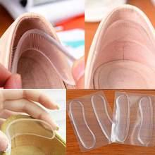 Semelles en Silicone antidérapantes pour chaussures, tampons en Gel pour protection des pieds et talons, Anti rayures, coussin, insertion
