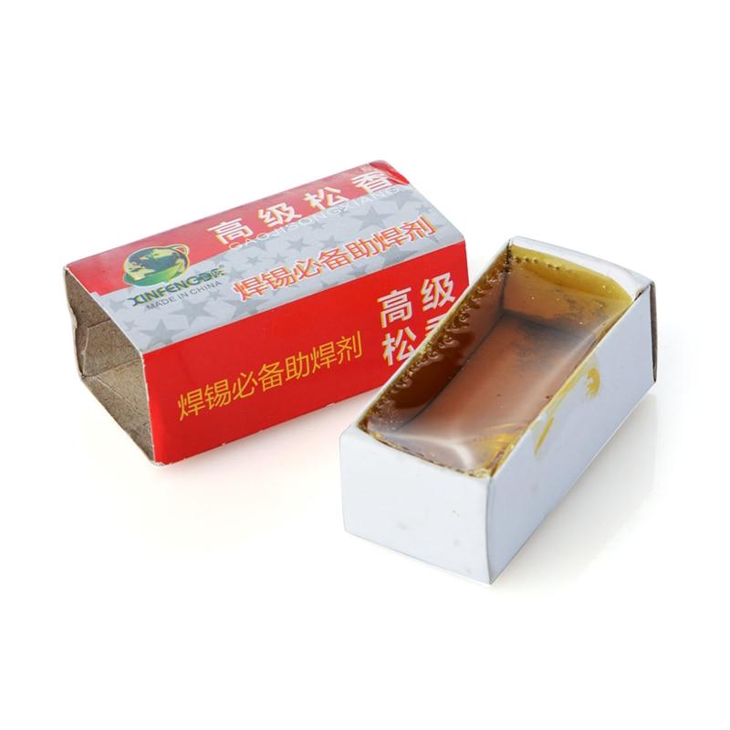 1pc Professional Electric Soldering Iron Carton Rosin Soft Solder Welding Fluxes Soldering Flux