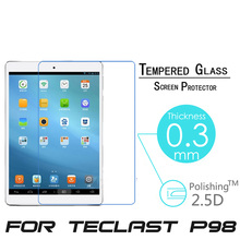 For Teclast P98 3G Octa Core/ X98 Air 3G/ X98 Air II 9.7 inch Tablet Explosion Proof Tempered Glass Film Screen Protect Cover