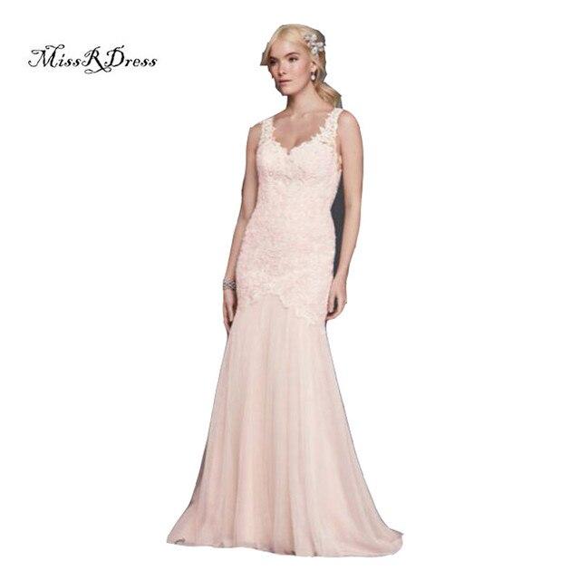Beaded Venice Lace Trumpet Wedding Dresses Bodice V Neckline And