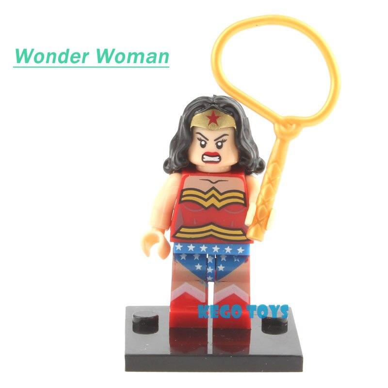 Single Sale Justice League Movie Super Heroes Batman Wonderwoman Aquaman Cyborg Superman Figures Avengers Model Building Blocks