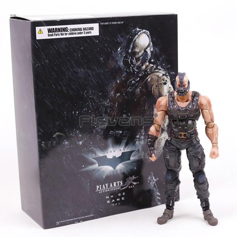 The Dark Knight Rises Трилогия Бэйн Играть искусств Кай Square Enix ПВХ фигурку Коллекционная модель игрушки