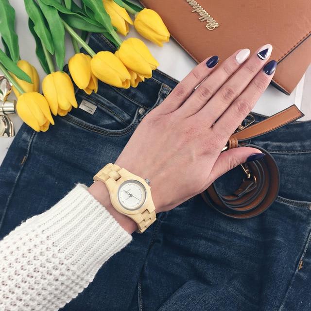 Ladies Watch BOBO BIRD Full Bamboo Watches Newest Brand Quartz Women Jewelry Relogio Feminino
