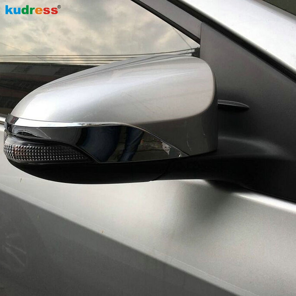 Front Rear Protector Strips Molding Accessory Alert Chrome Door Handle Cover For Toyota C-hr Chr 2017 Exterior Parts Auto Replacement Parts