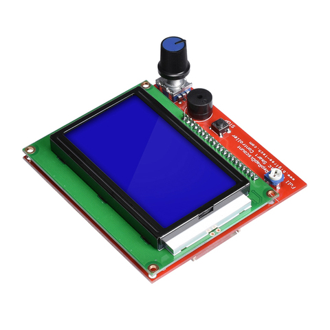 BIQU 12864 LCD Control Panel Smart Controller RAMPS1.4 LCD RepRap MKS GEN L Support Control Board for 3D Printer Lahore