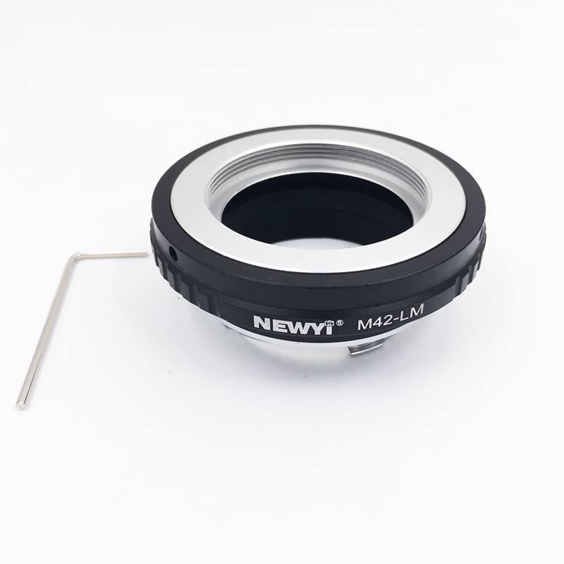 Image 5 - Newyi M42 Lm адаптер для объектива M42 в L eica M Lm камера M9 с для Techart Lm Ea7 камера объектив кольцо аксессуары-in Адаптер объектива from Бытовая электроника