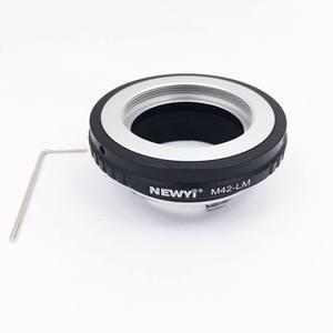 Image 5 - Newyi M42 Lm adaptörü M42 Lens L eica M Lm kamera M9 için Techart Lm Ea7 kamera Lens halkası aksesuarları