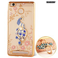 Xiaomi Redmi 3s case xiaomi redmi 3 pro Rhinestone Case Cover For xiaomi redmi 3s 3 s pro Silicone Case back cover Holder Stand