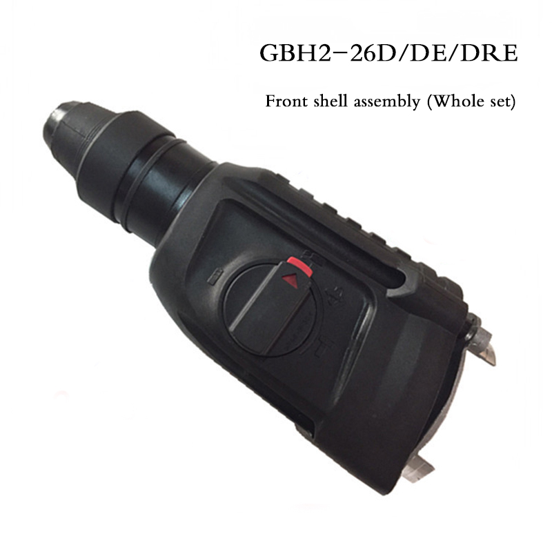 Whole set Electric hammer head front shell assembly,Gearbox full assembly, Electric hammer accessories for Bosch GBH2-26D/DE/DRE high quality electric hammer drill boutique stator case plastic shell for bosch gbh2 22 hammer accessories