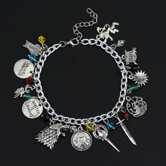 Game of Thrones/Supernatural/The Walking Dead/Doctor Who Bracelet