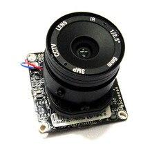 2mp Full HD1920*1080 CCTV 1080P IP Camera Module PCB Main Board 2.0mp Hisilicon + 4mm lens