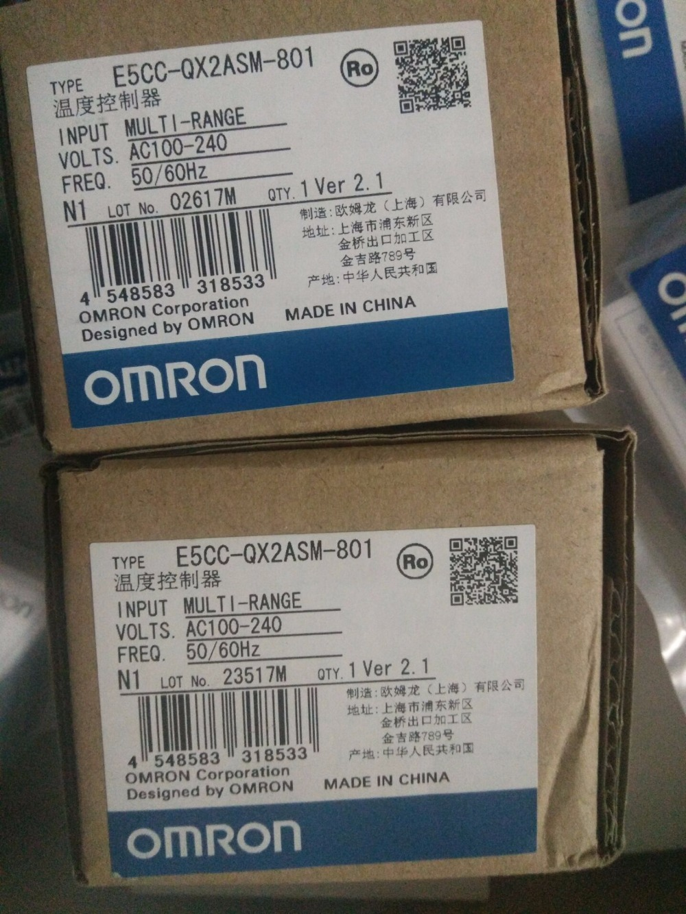 1pc E5CC-RX2ASM-801 OMR Temperature Controller, E5CCRX2ASM801 Sensor NEW in Box, E5CC RX2ASM 801 dtb4848cr delta temperature controller new in box