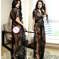 Sexy lingerie sexy costumes women hot intimates sexy underwear deep V long slips sex products pajamas nightdress sleepwear
