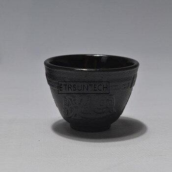 12pcs Japanese Cast Iron Teacups Tea Cups Set Drinkware Tools 70ml High-grade Accessorries For Cast Iron Teapot