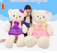 100 см Kawaii Медведь мода Мишка Жук Детские медведь плюшевые игрушки куклы любителей детей мягкая игрушка для ребенка прекрасный подарок на де...
