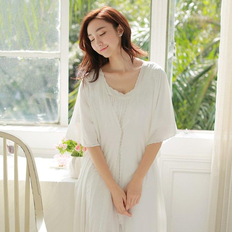 Prinsty chemise de nuit ensemble femme climatisation vintage royal robe ensemble spaghetti sangle chemise de nuit ensemble 1325