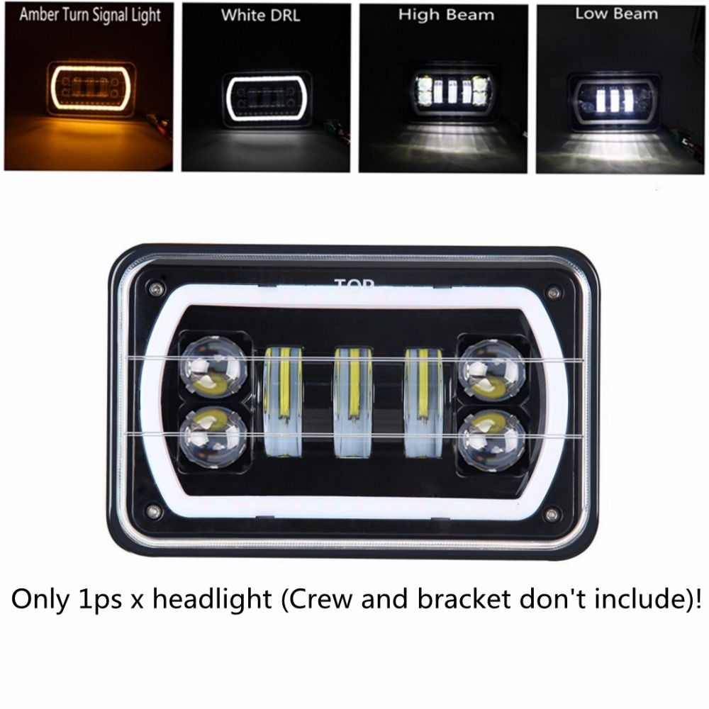 Yait LED Conversion Headlight Lamp For Honda XR250 XR400 XR650 and ...