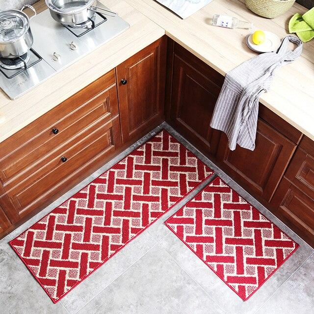Long Floor Mat Kitchen Area Rug Bedroom Decor Soft Bedside Yoga Mat  Footcloth Bathroom Doormat Home