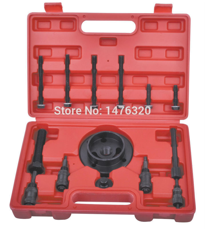 15PCS Diesel Engine Timing Camshaft Alignment Locking Tool Kit For Land Rover 200TDI 300TDI 2.5TD AT2144  engine camshaft locking setting timing tool kit for audi a1 a3 a4 a5 a6 tt skoda vw vag 1 6 2 0l tdi st0196