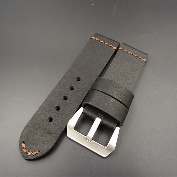 1PCS watch bands genuine cow leather watch straps Crazy horse leather 22MM 24MM
