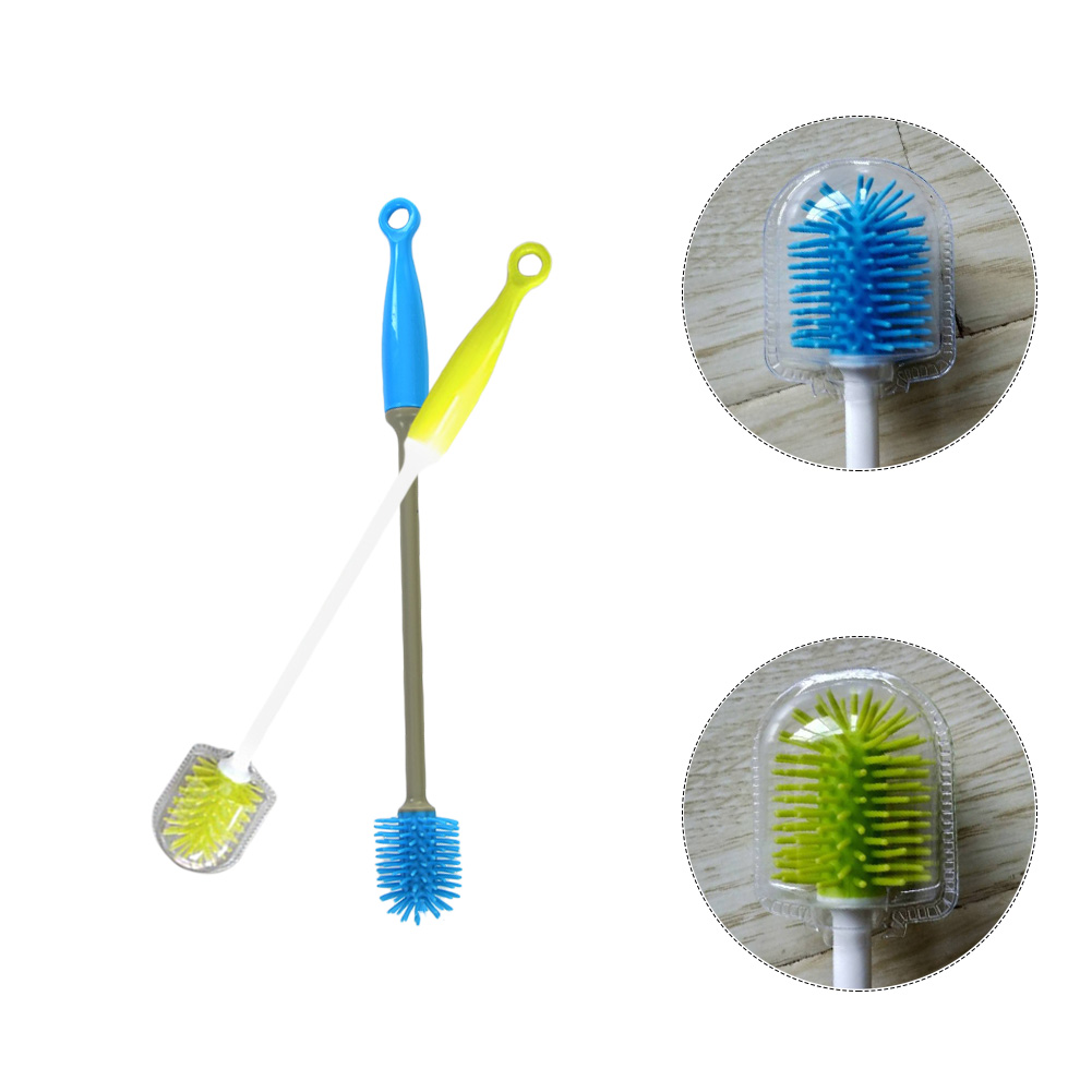 Réveils, Radios-réveils Cooperative Portable Milk Bottle Cleaning Brush Cup Brush 360 Degree Washing Brush