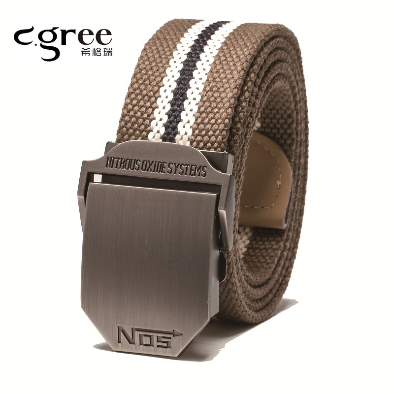 2017 New Arrival Unisex Canvas Tactical Belt Designer Belts Men High quality Military Belts Army Leather
