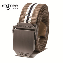 2017 New Arrival Unisex Canvas Tactical Belt Designer Belts Men High quality Military Belts Army Leather Belt Men Patriot Jeans