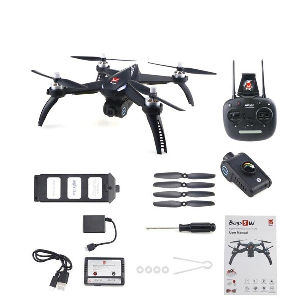 MJX Bugs 5 W B5W RC Drone RTF 5G WiFi FPV 1080P Camera With GPS Follow Me Mode RC Quadcopter Photography Video Device RC Model цены онлайн