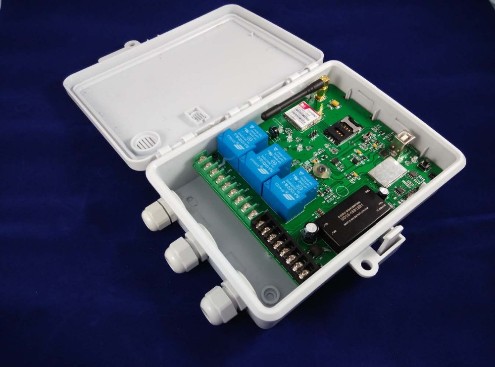 New Designed Gsm Remote Control Box For Industrial Control Precise Gsm-tog Latest Gsm Gsm-tog Remote Controller dc9-36v Power Input