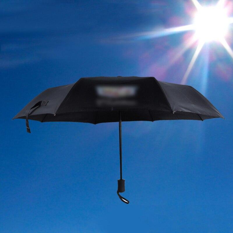 Top Quality Car For Cadillac Umbrella Men Rain Woman Windproof Large Man&Women Sun Floding Big Umbrella Outdoor Anti-UV