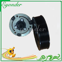 AC A C Compressor Pump Electromagnetic Clutch Assembly Pulley Hub Coil For BMW 3 Series E90