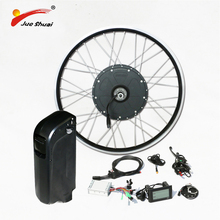 High Speed 48v1000w Powerful Electric Bike Conversion Kit with 48v Battery Brushless Motor Wheel for  MTB Mountain E Bike Kit цена и фото
