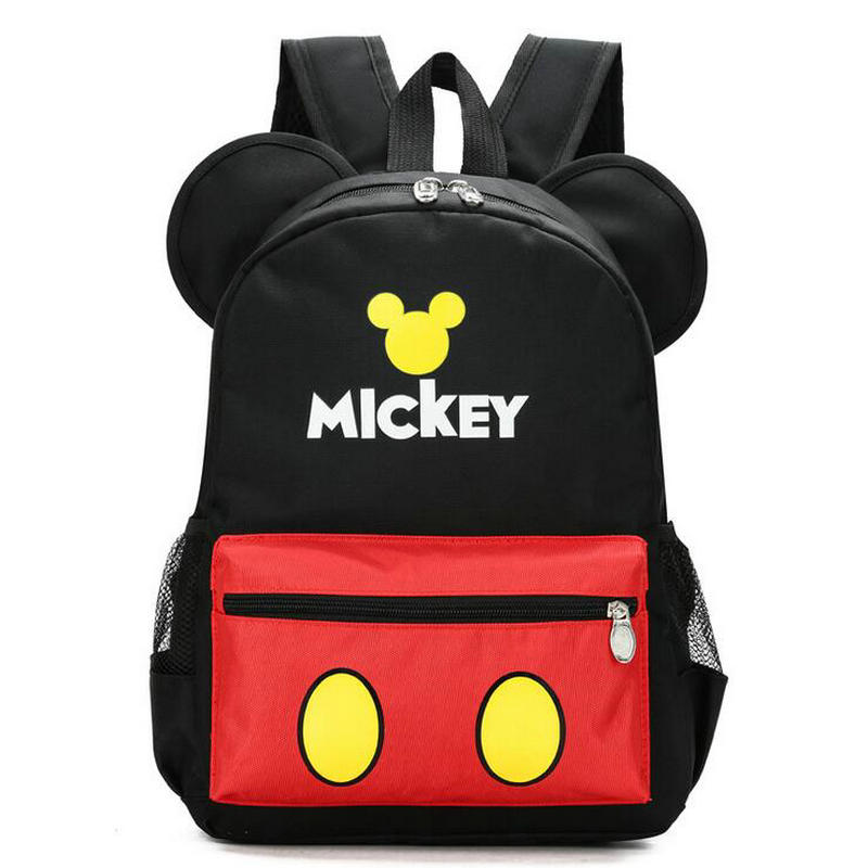 New Fashion Cartoon Children School Bag Mickey Bags Kindergarten Class Backpack First Grade Boys And Girls Baby Schoolbag