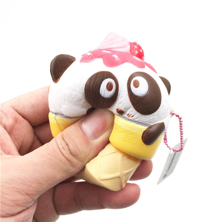 Collectibles Advertising 4cm Mini Squishy Slow Rising Jumbo Lanyard Squishy Slow Rising Steamed Bread Panda Squeeze Lanyard For Keys Groot Phone Strap
