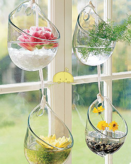 1pcs home decoration wall glass vases wedding decoration shop party 1pcs home decoration wall glass vases wedding decoration shop party decor crystal flower pots planters decorative junglespirit Images